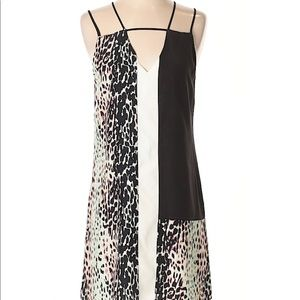 Parker Animal Silk Dress